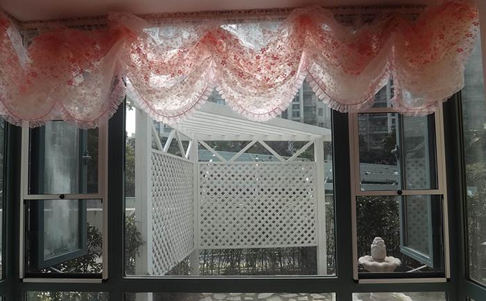 隐形窗纱案例